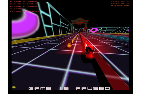 GLTron Free Open Source software game based light cycle ...