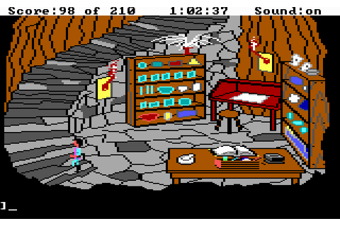 King's Quest III: To Heir Is Human (1986 - DOS). Ссылки ...