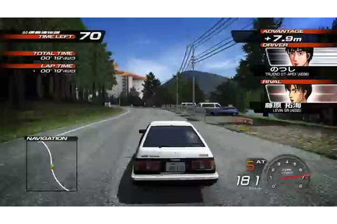 Initial D Extreme Stage Walkthrough/Gameplay PS3 HD #1 - YouTube