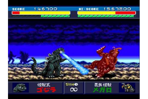 Godzilla Battle Legends - Level 3 Megalon - YouTube