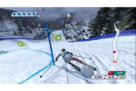 Vancouver 2010 (PC) - Alpine Skiing: Ladies' Slalom - YouTube