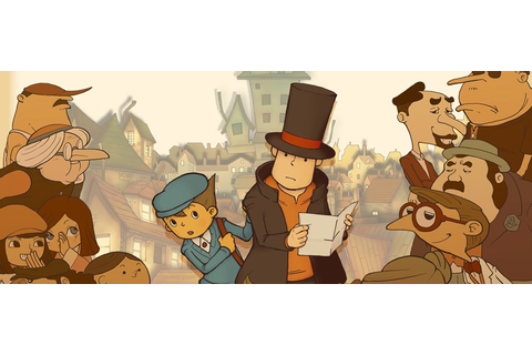 Professor Layton and the Curious Village - G4F Localisation