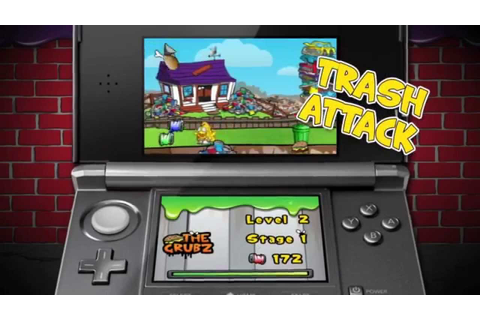 The Trash Pack Video Game for Nintendo 3DS - YouTube