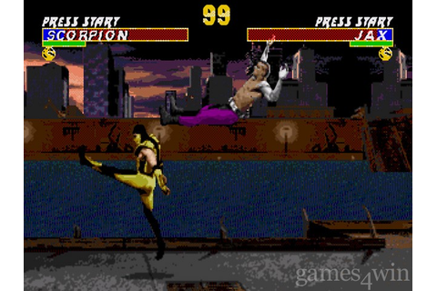 Ultimate Mortal Kombat 3 Download on Games4Win