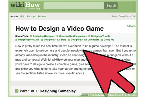 How to Make a Video Game from Scratch (with Pictures ...