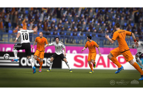 UEFA Euro 2012 Launch Screenshots
