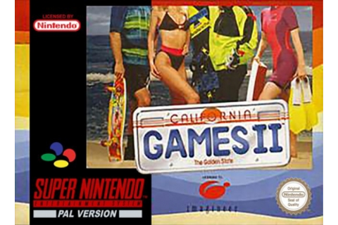 California Games II [Europe] - Super Nintendo (SNES) rom ...
