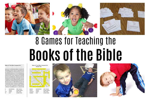 8 Books of the Bible Games — Ministry-To-Children.com