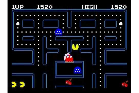 Pacman Gameplay [1]: Beginner's luck - YouTube