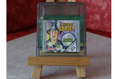Jeu Game Boy Color : Inspector Gadget Operation Madkactus ...