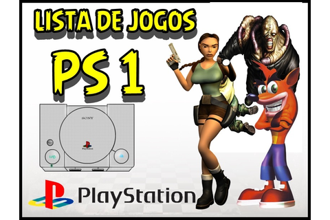 Jogos Ps1 Games Playstation 1 - Patchs Psone Cd Disco ...