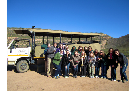 Truman in Cape Town 2011: On safari at Aquila Game Reserve!