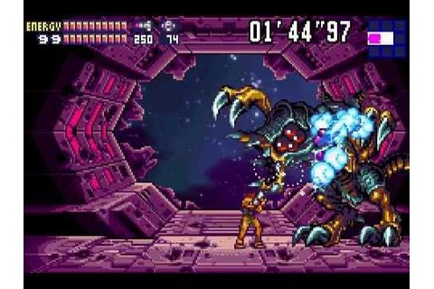 Metroid Fusion (GBA) [Best Ending, 100% run w/ secret ...