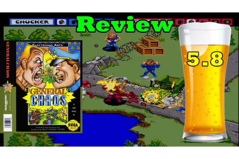 DBPG: General Chaos Review (Sega Genesis) - YouTube