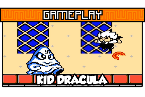 Kid Dracula - NES - Gameplay - YouTube