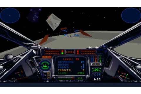 Star Wars: X-Wing (PC/DOS) 1993, LucasArts - YouTube