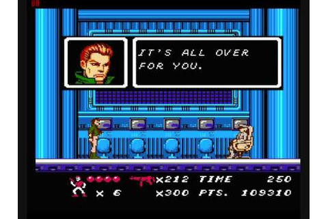 Code Name: Viper (Final Boss) -NES- - YouTube
