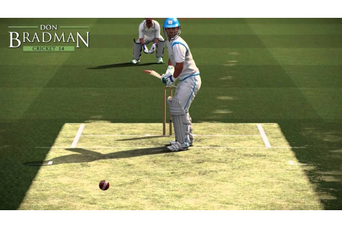Don Bradman Cricket 14 Gameplay with DRS - YouTube