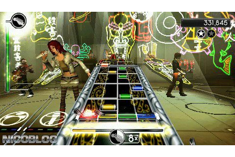 Rock Band Unplugged (USA+DLC) PSP ISO - CDRomance