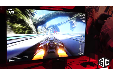 First look at racing game FAST RMX for Nintendo Switch ...