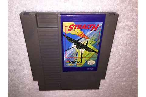 Stealth ATF (Nintendo Entertainment System, 1989) NES Game ...