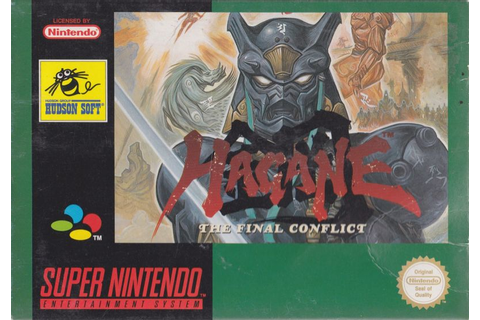 Hagane: The Final Conflict for SNES (1994) - MobyGames