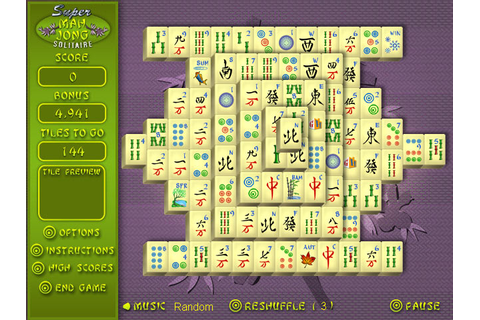 Super Mahjong | GameHouse