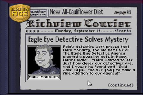 Download Eagle Eye Mysteries - My Abandonware