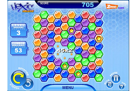 Hexic Deluxe > iPad, iPhone, Android, Mac & PC Game | Big Fish