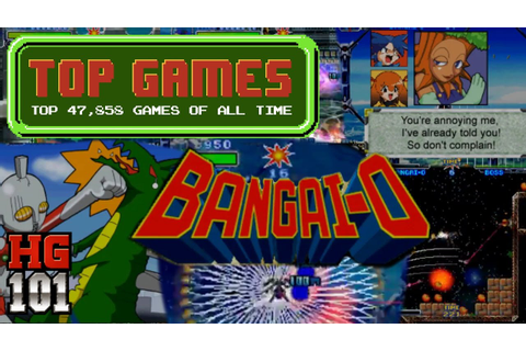 Bangai-O - Top 47,858 Games of all time - Part 22a - YouTube