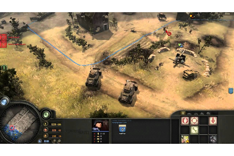 Company Of Heroes Opposing Fronts Gameplay Operation ...
