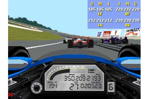 IndyCar Racing 2 gameplay - Michigan RACE - YouTube