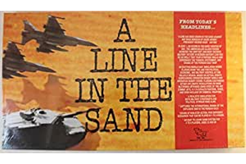Amazon.com: A Line in the Sand (Military Strategy Board ...