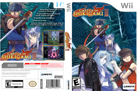 Games Covers: Castle of Shikigami III - Wii
