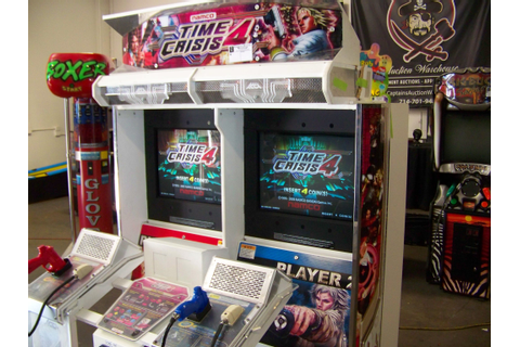 TIME CRISIS 4 TWIN SHOOTER ARCADE GAME NAMCO Item is in ...