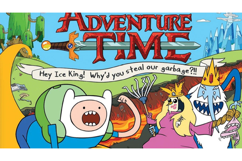 CGRundertow ADVENTURE TIME: HEY ICE KING! WHY'D YOU STEAL ...