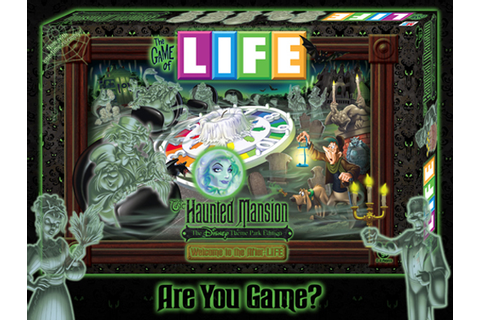 The Game of Life: The Haunted Mansion - The Disney Theme ...