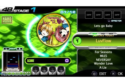 DJ Max Fever (USA) PSP ISO Download [ULUS-10403] - Cdromance