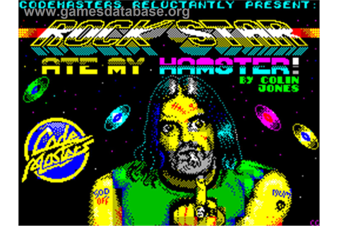 Rock Star Ate My Hamster - Sinclair ZX Spectrum - Games ...