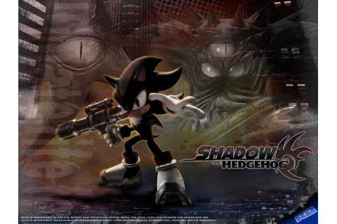 Shadow of a Hedgehog ./ Desktop ./ Shadow the Hedgehog ...