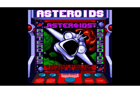 Game Boy - Arcade Classic No. 1: Asteroids / Missile ...