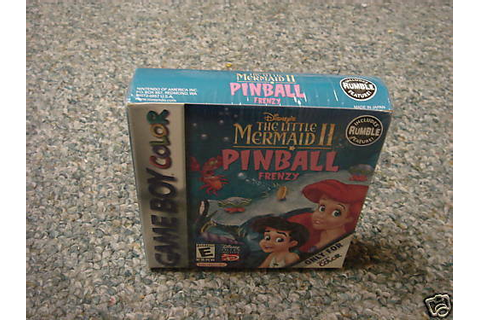 The Little Mermaid II: Pinball Frenzy (Game Boy Color ...