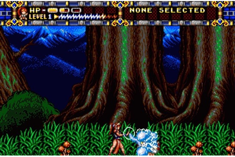 Alisia Dragoon for Genesis Games Alisia Dragoon