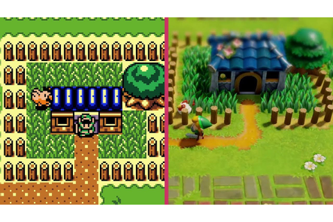Zelda: Link's Awakening – Game Boy vs. Switch REMAKE ...