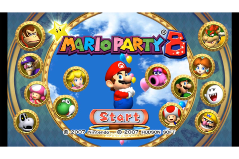 Mario Party 8 - Complete Longplay - All Boards | Party ...
