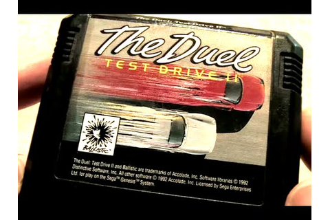 Classic Game Room - TEST DRIVE II: THE DUEL review for ...