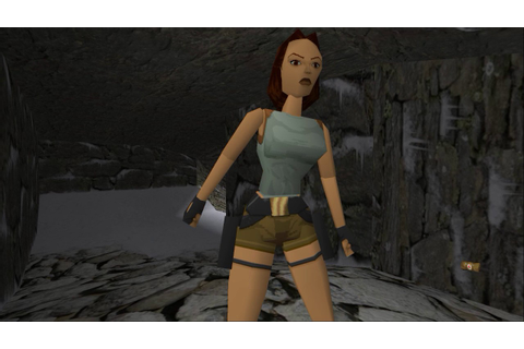 Tomb Raider 1 (HD Mods) - #01 Caves - YouTube