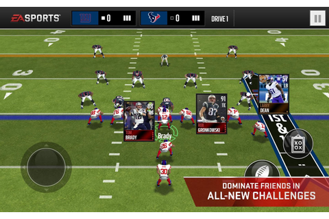 Blog - MADDEN NFL MOBILE 16 - THE ULTIMATE FOOTBALL VIDEO ...