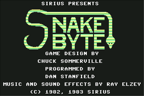 Download Snake Byte (Atari 8-bit) - My Abandonware
