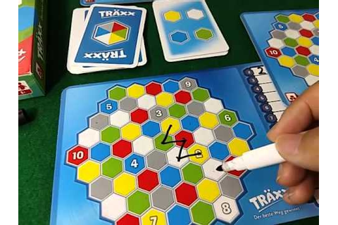 Traxx 玩一次 by Board Game Base - YouTube
